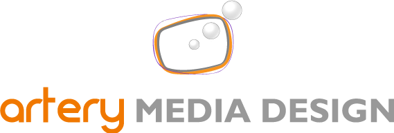 logo artery media design